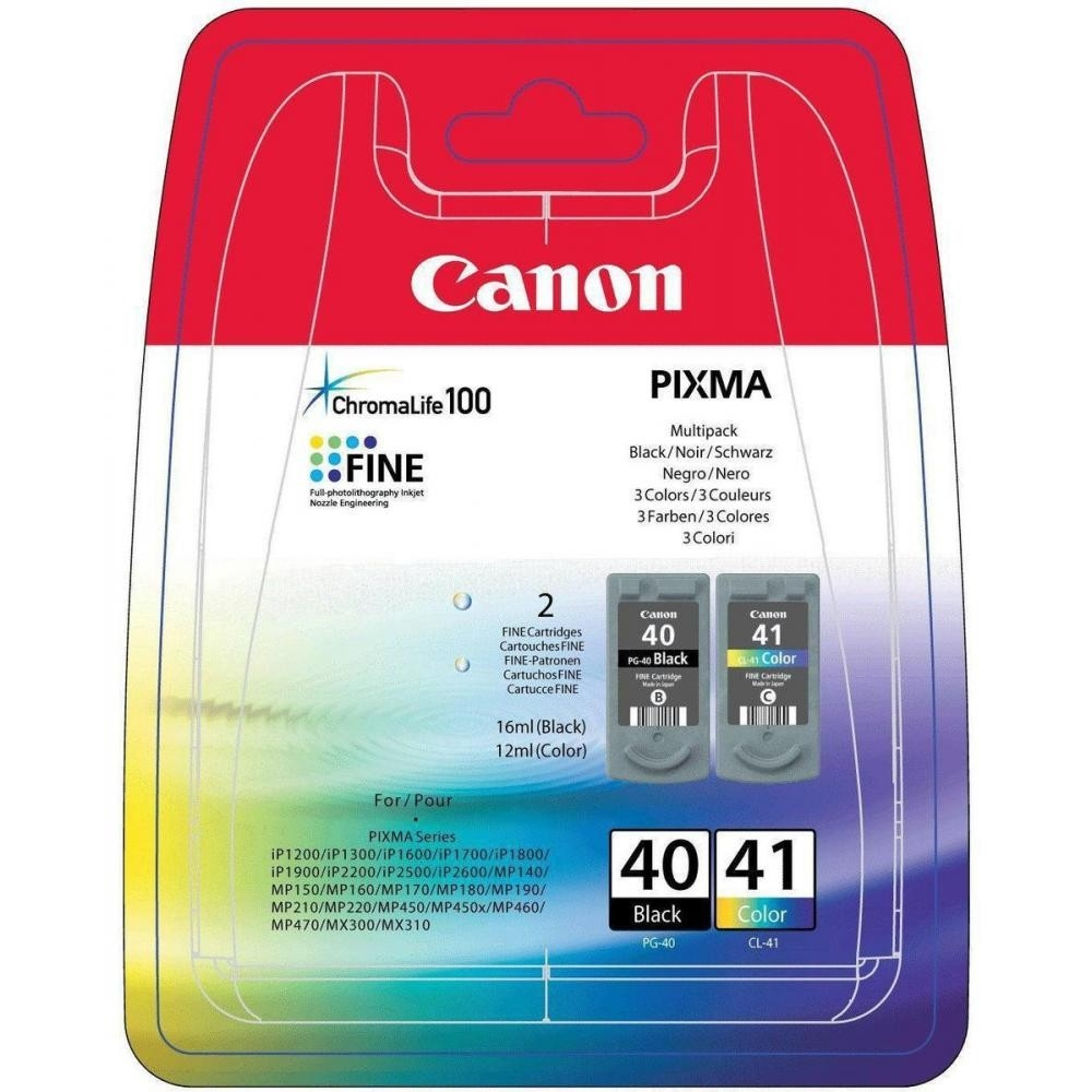 Canon PG-40 CL-41 multipack eredeti fekete-színes tintapatron