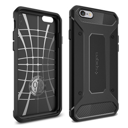 Spigen SGP Rugged Armor Apple iPhone 6s Black hátlap tok