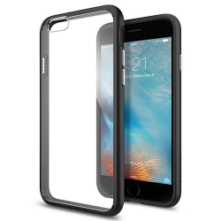 Spigen SGP Ultra Hybrid Apple iPhone 6/6s Black hátlap tok