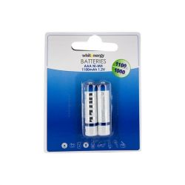 Whitenergy 2xAAA/R3 1100mAh Ni-MH tölthető elem/akkumulátor