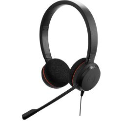 Jabra EVOLVE™ 20 UC Duo fekete headset
