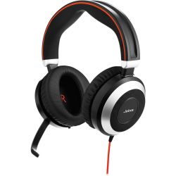 Jabra EVOLVE 80 MS Stereo USB MS fekete headset