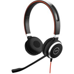 Jabra EVOLVE 40 MS Stereo USB MS fekete headset