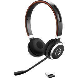 Jabra EVOLVE 65 MS Stereo USB MS fekete headset