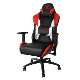 Platinet Varr Silverstone piros-fekete gamer szék