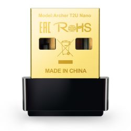 TP-Link Archer T2U Nano AC600 DualBand USB 2.0 vezeték nélküli nano USB adapter