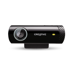 Creative WebCam Live! Chat HD fekete webkamera