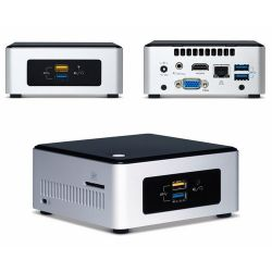 Intel BOXNUC5CPYH, N3050, DDR3L-1600, SATA3, HDMI, SDXC slot, USB 3.0, BOX (Barebone, Mini PC)