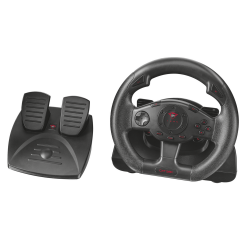 Trust GXT580 Vibration Feedback Racing Wheel kormány + pedál