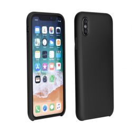 Forcell Huawei Y5 (2018) fekete szilikon hátlap tok