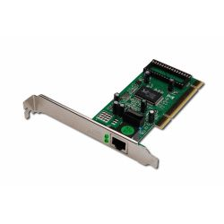 Digitus DN-10110 Gigabit Ethernet 32-bites PCI kártya adapter