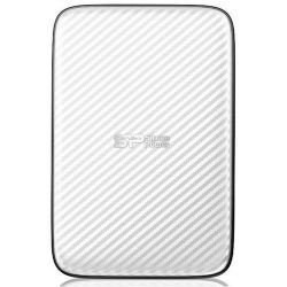 Silicon Power Diamond Elegant D20 500GB USB 3.0 fehér külső merevlemez