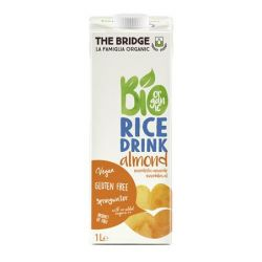 THE BRIDGE 1 l dobozos mandulás bio rizs növényi ital