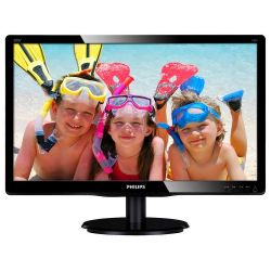 "Philips 19,53"" 200V4QSBR/00 MVA LED fekete monitor"