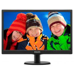"Philips 203V5LSB26/10 19,5"" TN LED HD VGA fekete monitor"