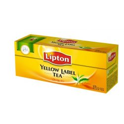Lipton Yellow label 25x2g filteres fekete tea