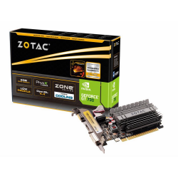 ZOTAC GeForce GT 730 ZONE Edition Low Profile 2GB DDR3 (64 Bit) HDMI, DVI, VGA videókártya