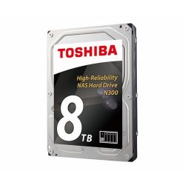 Toshiba N300 3.5'' 8TB SATA/600 7200RPM 128MB cache BOX belső HDD
