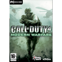 Call of Duty 4 Modern Warfare (PC) játékszoftver