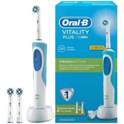 Braun Oral-B D12 Vitality Cross Action Plus +  fehér/kék elektromos fogkefe