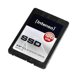INTENSO 120GB HIGH (TLC, SATA III, Olvasás: 520 MB/s, Írás: 500 MB/s) SSD