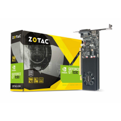 ZOTAC GeForce GT1030 Low Profile 2GB GDDR5 DVI-D, HDMI 2.0b videókártya