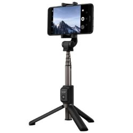 Huawei AF15 bluetooth fekete három lábú állvány és selfie bot