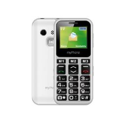 "myPhone Halo mini 2 1.77"" 32MB Single SIM 2G fehér mobiltelefon"