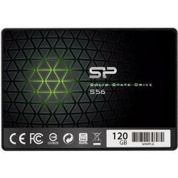 "Silicon Power Slim S56 120GB 2.5"" SATAIII 3D TLC belső SDD"