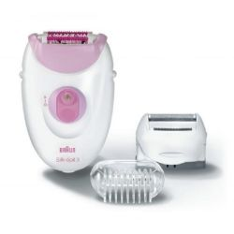 Braun 3270BS fehér/rózsaszín epilátor