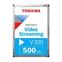"Toshiba V300 Video Streaming 3.5"" 500GB SATAIII 5700RPM 64MB belső merevlemez"
