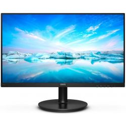 "Philips 221V8/00 21,5"" VA LED Full HD 75Hz VGA/HDMI fekete monitor"
