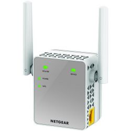Netgear EX3700 AC750 802.11n/ac, 1PT, Wall-plug Ext. Ant WiFi Range Extender