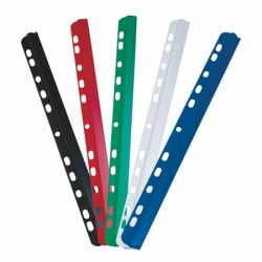 DONAU 6 mm, 1-60 lap, lefűzhető kék iratsín (10 db)