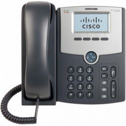 Cisco SPA502G Display, PoE, PC Port 1 vonalas IP telefon