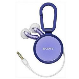 SONY MDRKE30LWV.CE7 lila fülhallgató