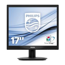 PHILIPS S-line 17S4LSB/00 17'' LED, 5ms, DVI, fekete monitor