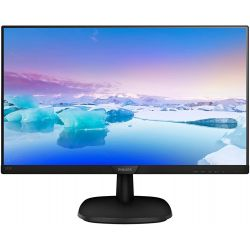 "Philips 243V7QSB/00 23,8"" IPS LED Full HD VGA/DVI fekete monitor"