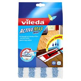 Vileda Active Max fehér/kék felmosó fej utántöltő