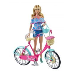 Mattel Barbie (DVX55) - Barbie bicikli