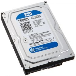 Western Digital 500GB 7200rpm SATA-600 32MB Blue WD5000AZLX HDD