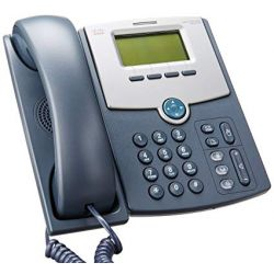 Cisco SPA512G 1 Line IP Phone with Display, PoE and Gigabit PC Port szürke Voip telefon