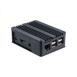 Akasa A-RA03-M1B Raspberry Pi (B+ / 2 / 3) , ASUS Tinker Board fekete számítógépház