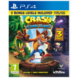Crash Bandicoot N´Sane Trilogy 2.0 (PS4) játékszoftver