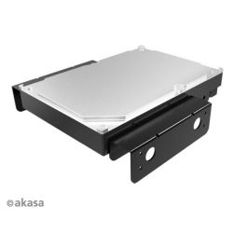 """Akasa AK-HDA-08BK 5,25"""" fekete beépítő készlet 3,5"""" HDD-hez"""