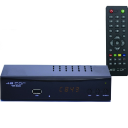 Alcor HDT 4400 Set-Top-Box DVB-T/T2 vevő