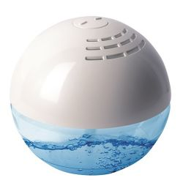 """Vitamax KJ-866 Aqua - globe """"Diamond"""" fehér légtisztító készülék"""