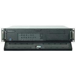 Chieftec UNC-210M-B-OP UNC-210M-B-OP, PSU nélküli fekeze/ezüst szerver ház