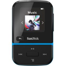Sandisk Clip Sport Go 16GB, kék MP3 lejátszó