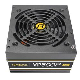Antec VP 500P Plus-EC, 500W, 80 PLUS tápegység